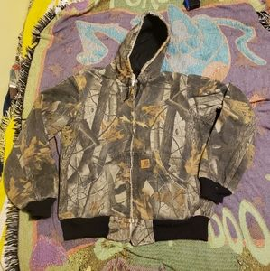 Carhartt Camo Hunting Workwear Jacket M